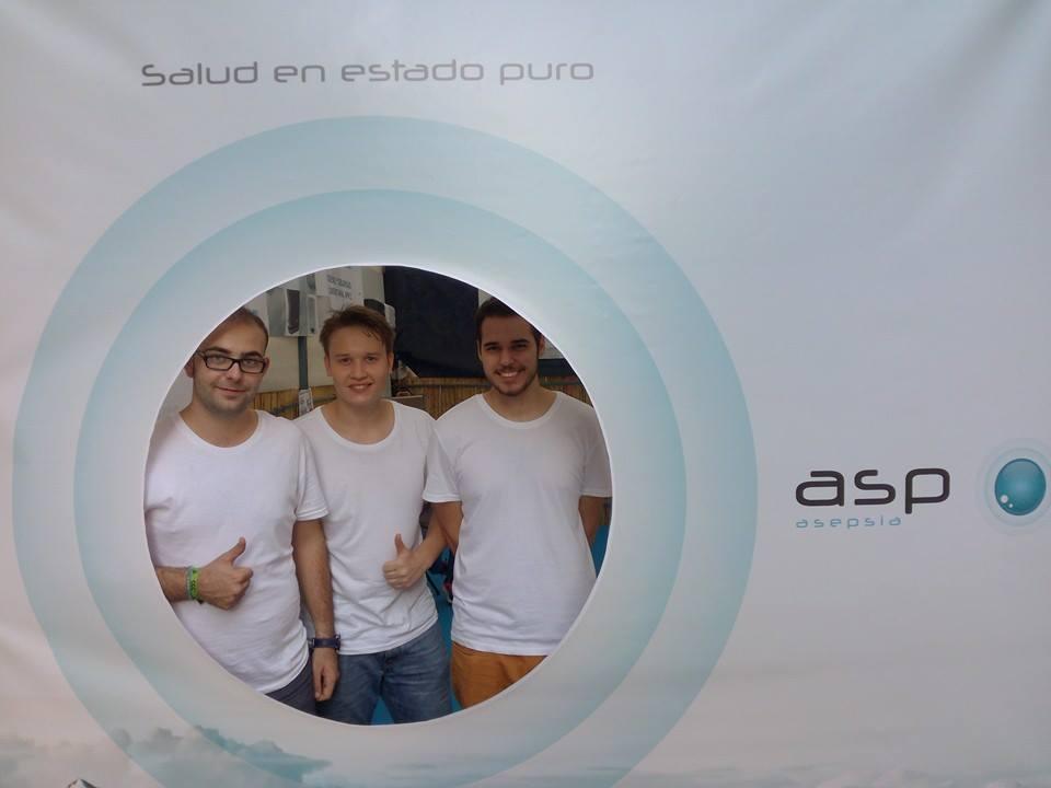 Campaña para feria ASP Asepsia