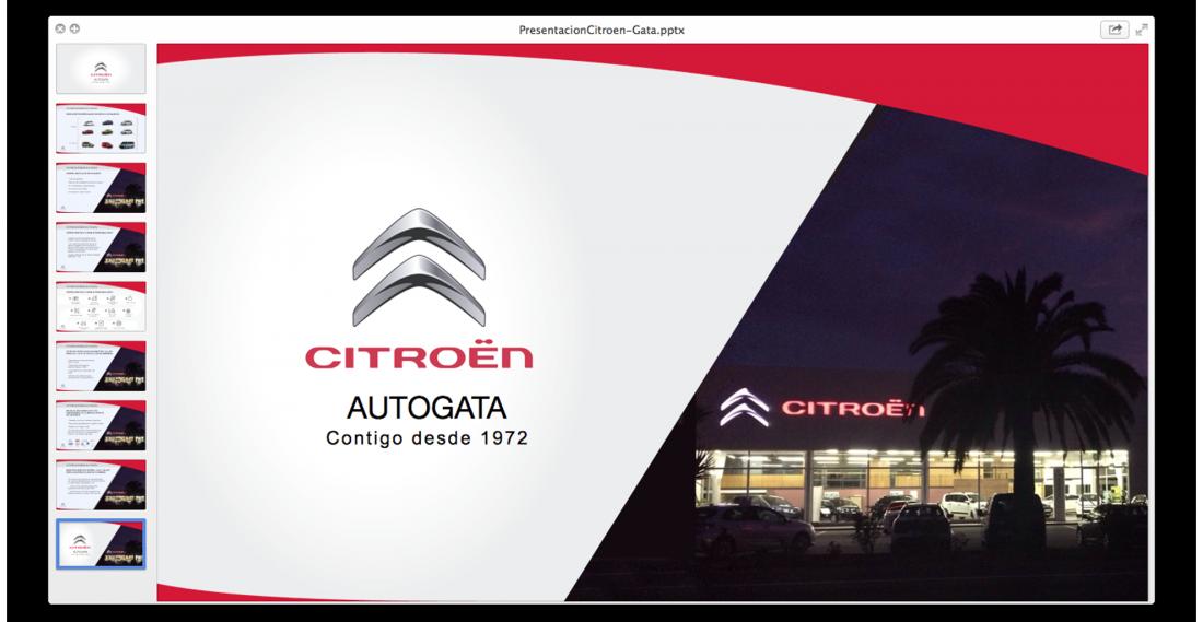 Presentación Citroën