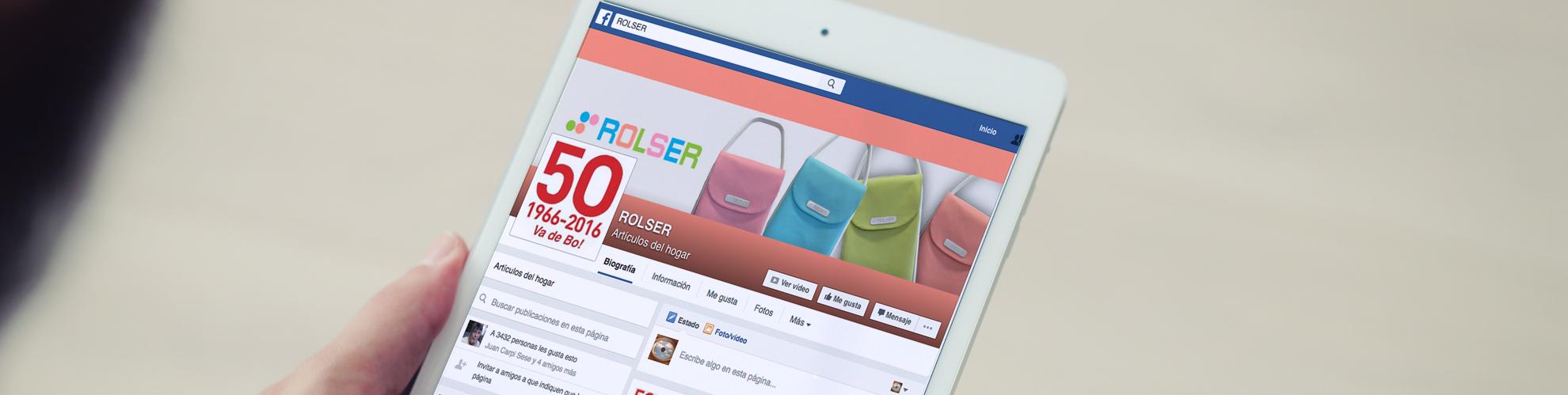 Factoria d'Idees gestión de contenidos facebook. ROLSER