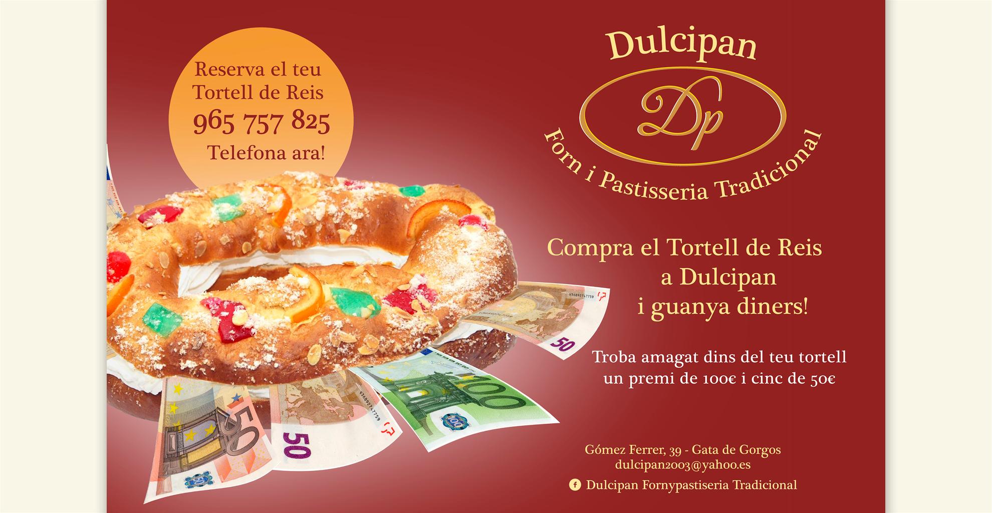 "Campaña ""Tortell de Reis"" Dulcipan"
